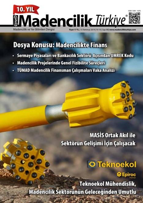 Madencilik Turkiye Temmuz 2019